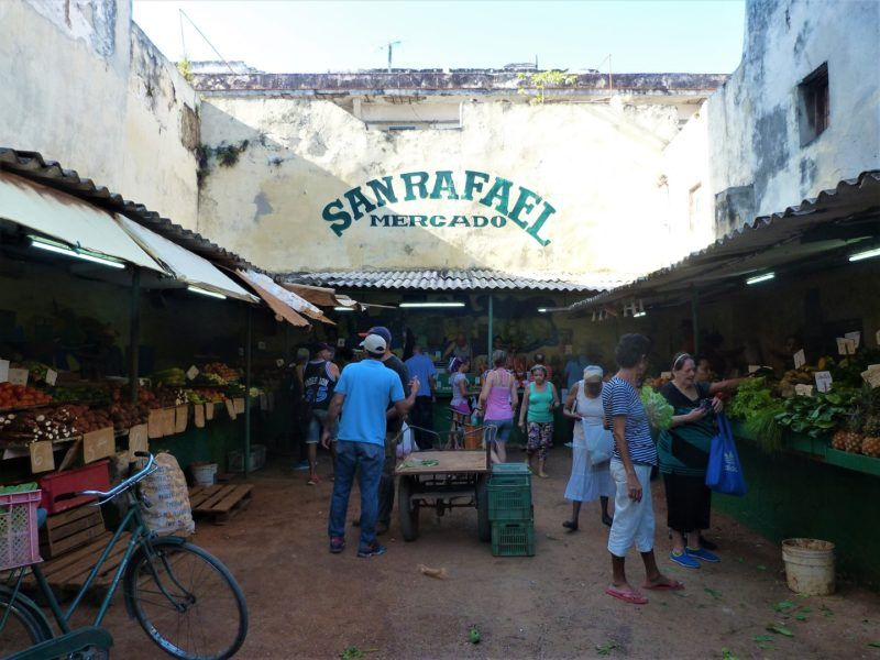 Marché San Rafael à La Havane - Cuba | Au Tigre Vanillé