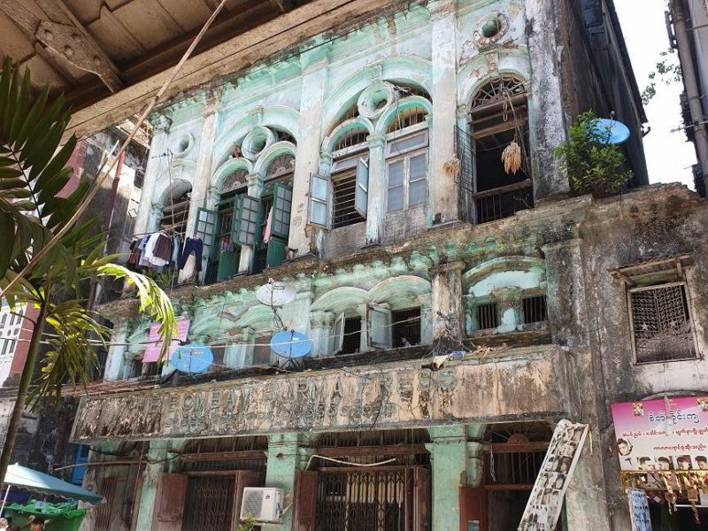 Flâner dans les rues de Yangon - Birmanie | Au Tigre Vanillé