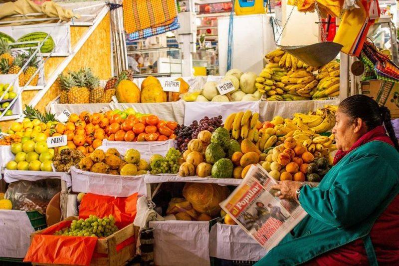 Balade dans un marché alimentaire de Lima - Pérou   Au Tigre Vanillé