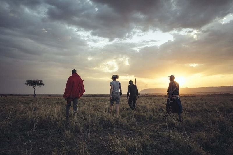 Trek dans le Masai Mara - Kenya | Au Tigre Vanillé