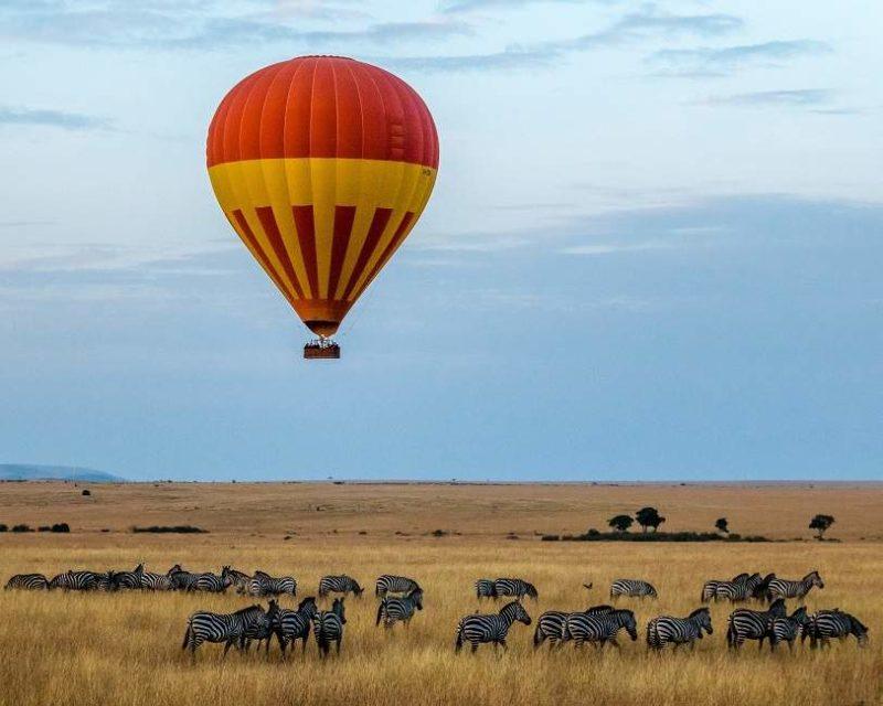 Survol en montgolfière du Masai Mara - Kenya | Au Tigre Vanillé