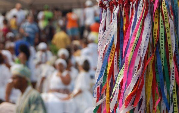 Cérémonie afro-brésilienne à Salvador de Bahia - Brésil   Au Tigre Vanillé