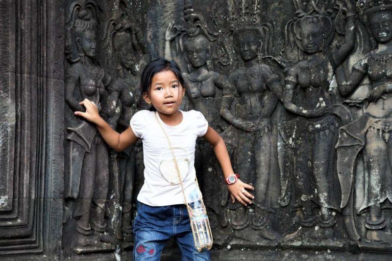 Chasse au trésor entre les tempes d'Angkor - Cambodge | Au Tigre Vanillé