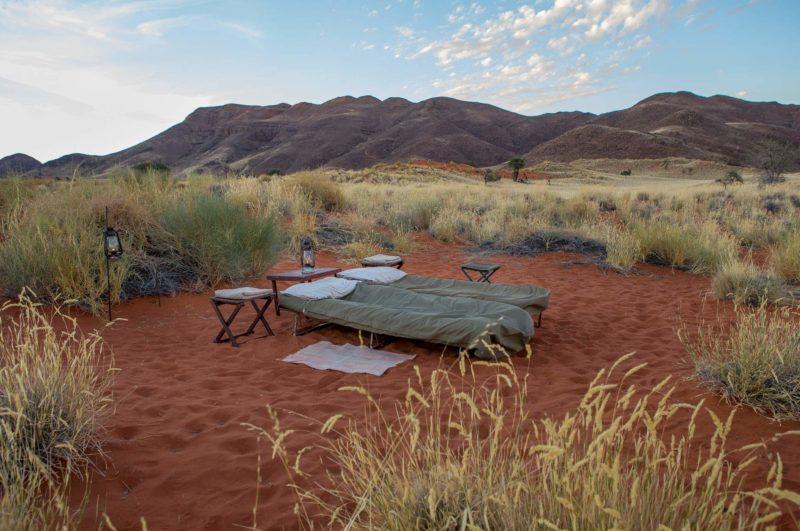 Camp sur le Tok Tokkie Trail dans le désert du Namib - Namibie | Au Tigre Vanillé