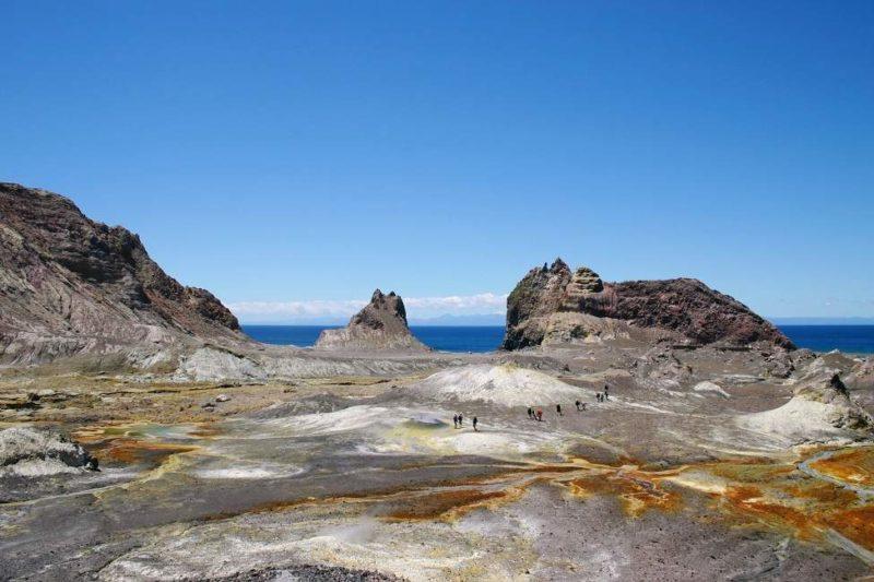 Survol des volcans de White Island - Nouvelle-Zélande | Au Tigre Vanillé
