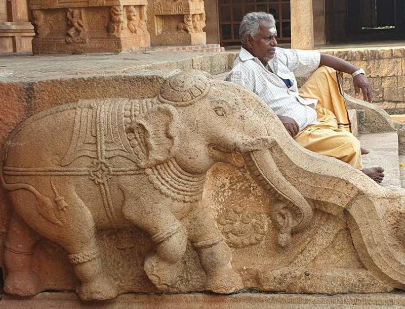 Temples et fidèles à Tanjore en Inde du Sud | Au Tigre Vanillé