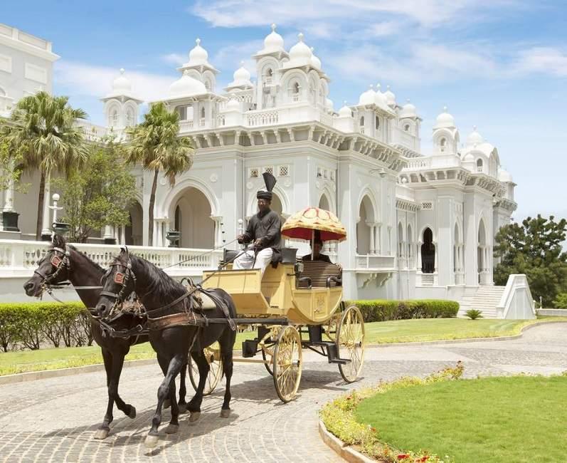 Palais merveilleux de Falaknuma à Hyderhabad en Inde du Sud | Au Tigre Vanillé
