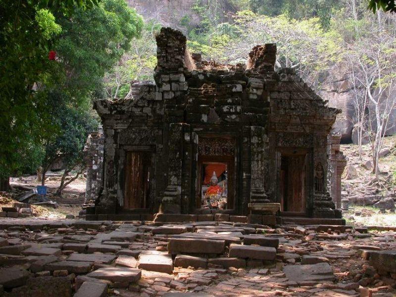 Temple de Vat Phou à Champassak - Laos   Au Tigre Vanillé