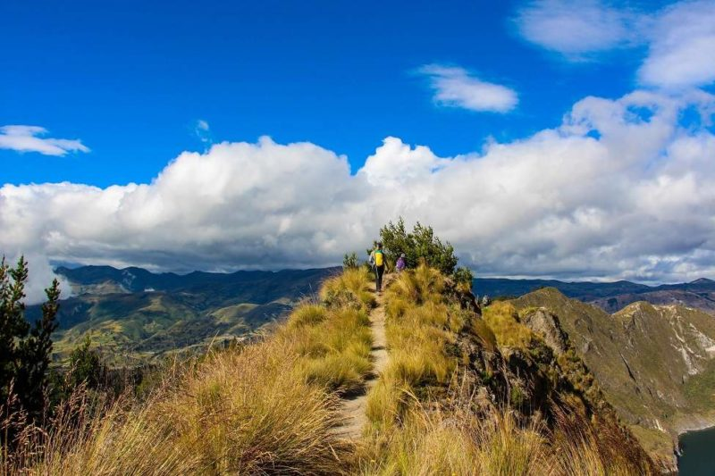 Randonnée à la découverte du volcan Quilotoa - Equateur | Au Tigre Vanillé