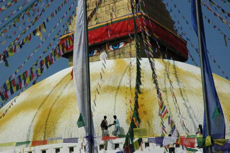 Découverte du stupa de Bodhnath - Népal | Au Tigre Vanillé