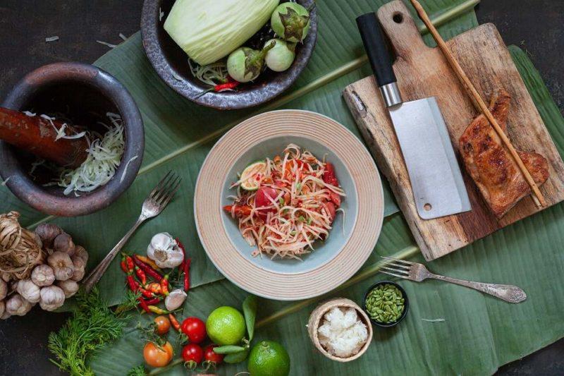 Cours de gastronomie de l'Isaan à Khon kaen - Thaïlande   Au Tigre Vanillé