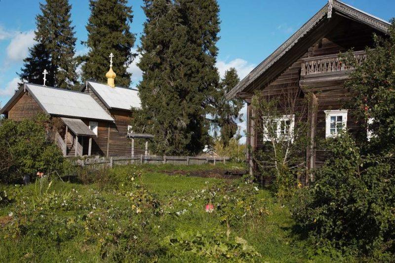 Village en bois de Kinerma en Carélie - Russie | Au Tigre Vanillé