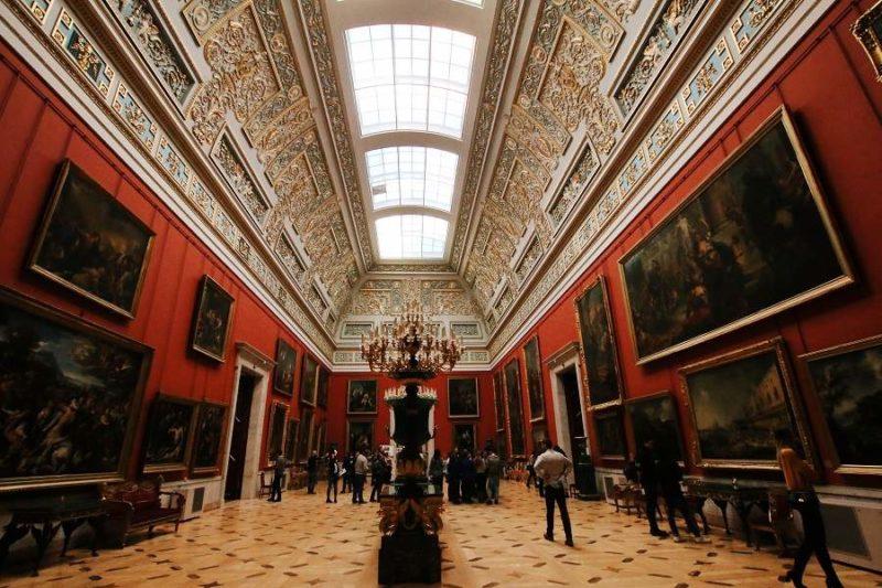 Musée d'art de l'Ermitage à St-Pétersbourg - Russie | Au Tigre Vanillé