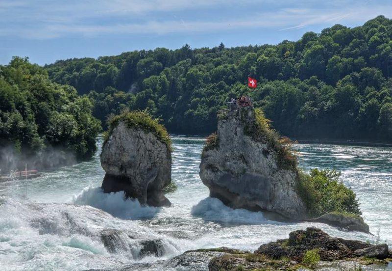 Admirer les chutes du Rhin à Schaffouse - Suisse | Au Tigre Vanillé