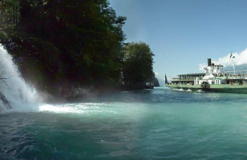 Croisière sur le lac de Brienz en bateau d'époque - Suisse | Au Tigre Vanillé