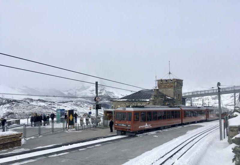 Train panoramique du Gornergrat de Zermatt au glacier - Suisse | Au Tigre Vanillé