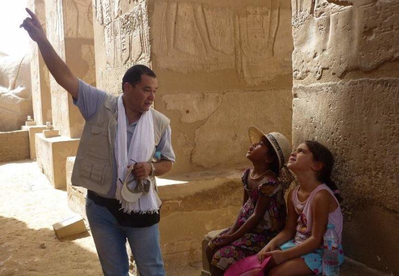 Découvrir les sites culturels avec un guide - Egypte | Au Tigre Vanillé