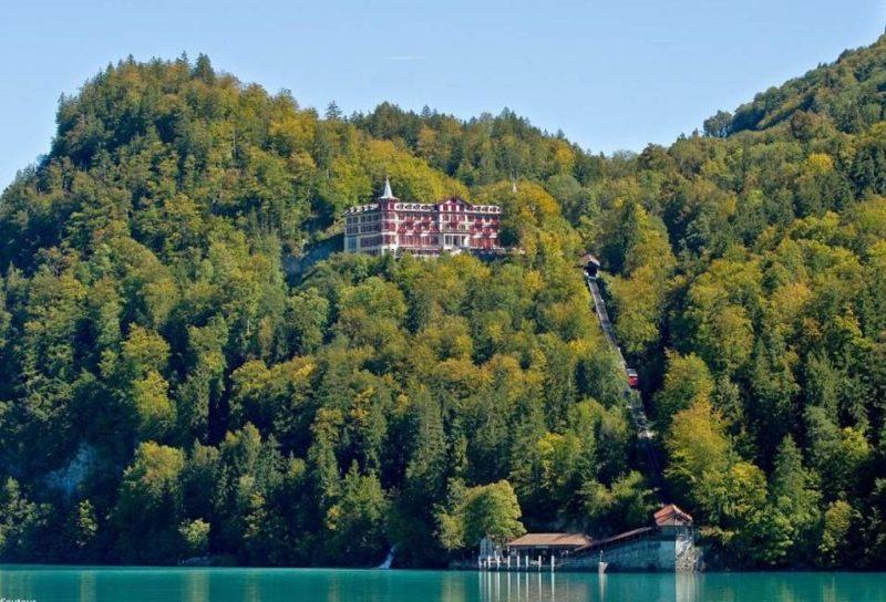 Découvrir le lac de Brienz et le Grand Hôtel Giessbach - Suisse | Au Tigre Vanillé