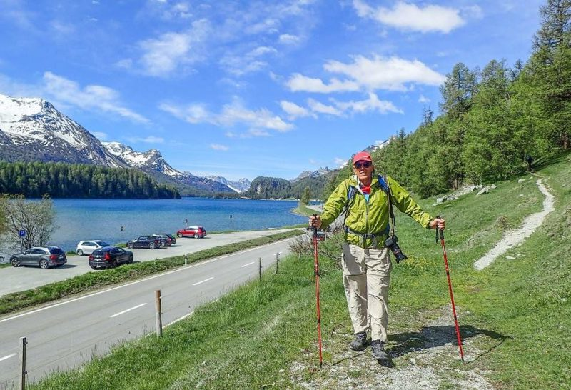 Randonner autour du lac de Sils en Engadine - Suisse | Au Tigre Vanillé