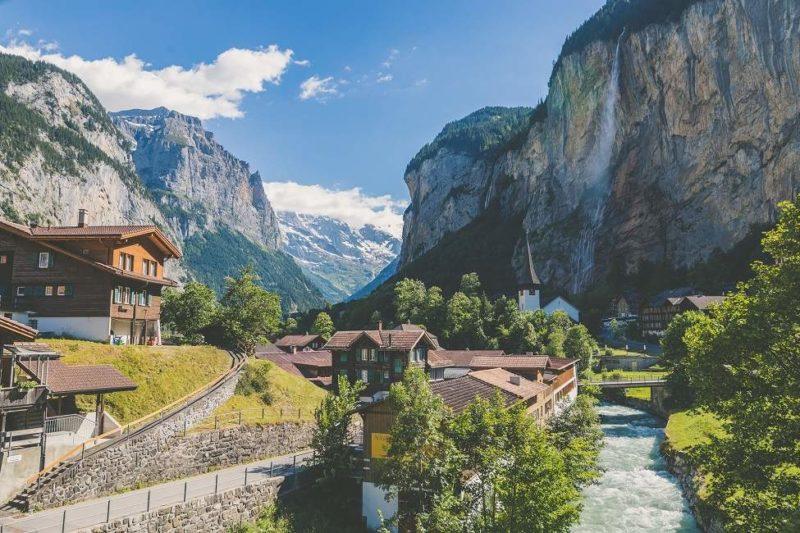 Monter à la Jungfraujoch en prenant le train depuis Lauterbrunnen - Suisse | Au Tigre Vanillé