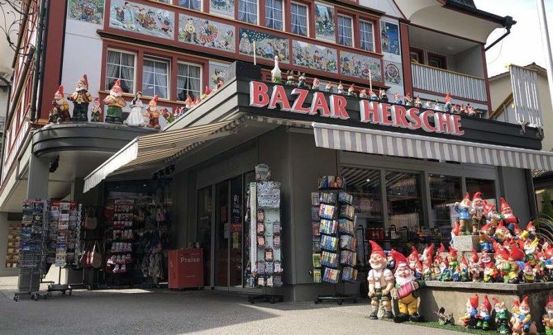 Village pittoresque et magasin de nains en Appenzell - Suisse | Au Tigre Vanillé