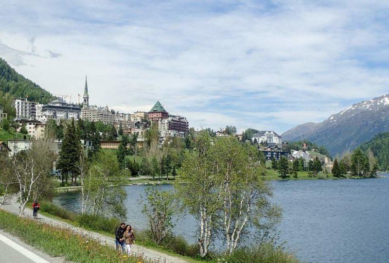 Ville de St-Moritz dans les Grisons - Suisse | Au Tigre Vanillé