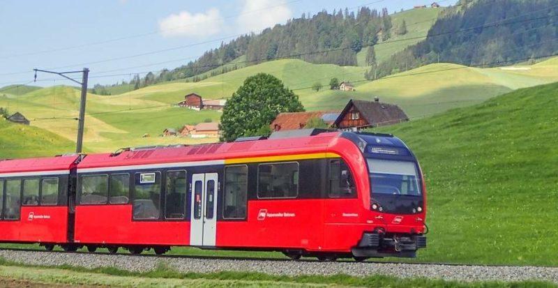 Train panoramique en Appenzell - Suisse | Au Tigre Vanillé