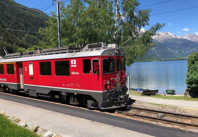 Train panoramique du Bernina Express du Tessin aux Grisons - Suisse | Au Tigre Vanillé