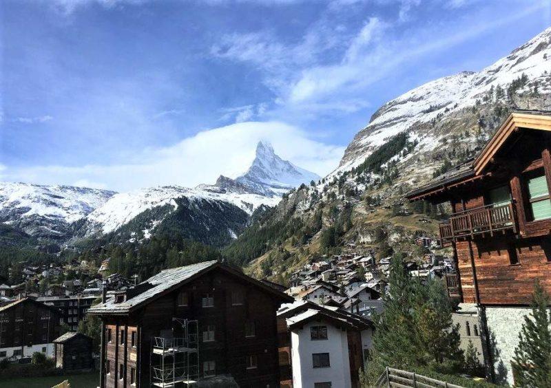 Vue sur le Cervin depuis Zermatt - Suisse | Au Tigre Vanillé